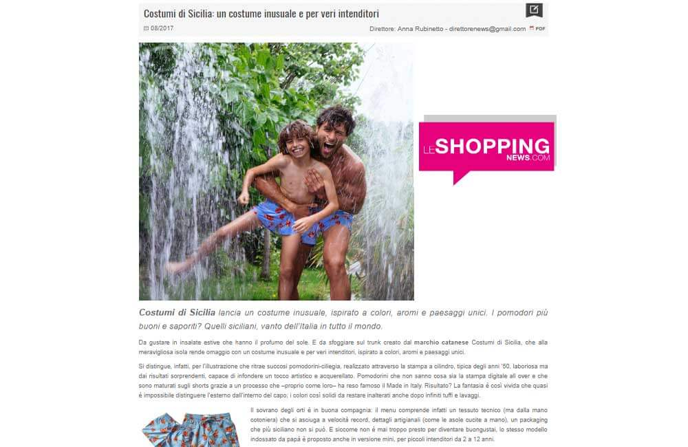 le shopping news