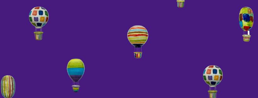 mongolfiere violet